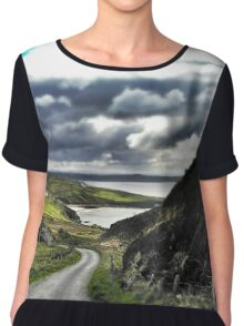 Donegal, Ireland Chiffon Top