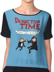 Deduction Time Chiffon Top