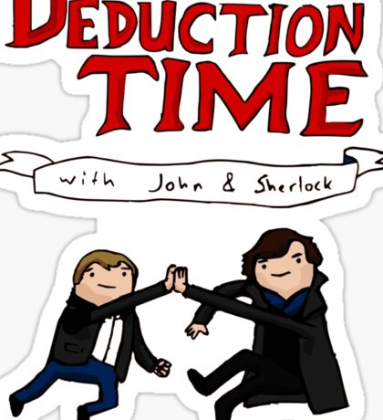 Deduction Time Sticker