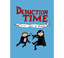 Deduction Time Photographic Print