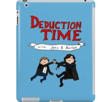 Deduction Time iPad Case/Skin