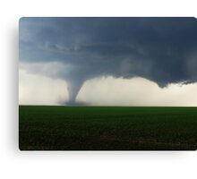 Kansas Tornado Canvas Print