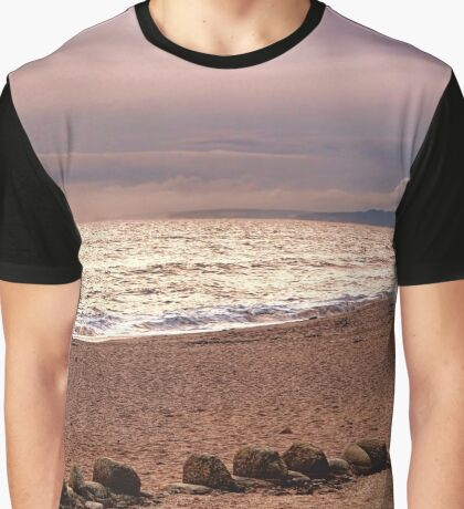 Dusk by the Sea Graphic T-Shirt