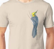 Normal Gray Cockatiel Unisex T-Shirt