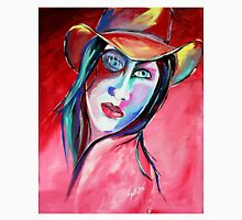 Billie Lou - Cowgirl Art by Valentina Miletic Unisex T-Shirt