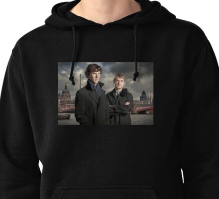 Sherlock Holmes Pullover Hoodie