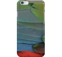 Blue Macaw Details iPhone Case/Skin