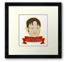Dwight - King of Kings Framed Print
