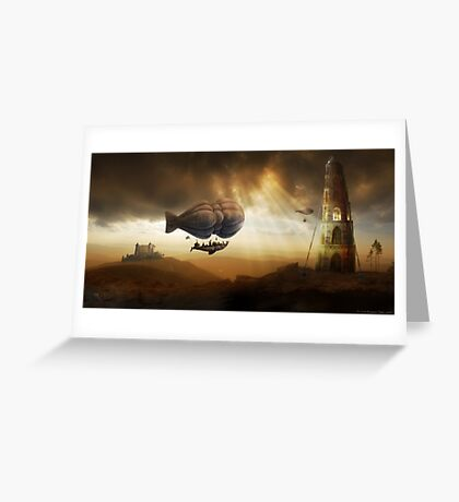 Endless Journey Greeting Card