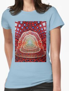 Alex Grey Colourfull 12 Womens Fitted T-Shirt