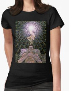 Alex Grey Colourfull 13 Womens Fitted T-Shirt
