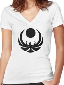 Nightingales Women's Fitted V-Neck T-Shirt