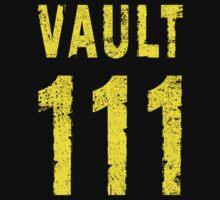 Vault 111 Baby Tee