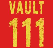 Vault 111 One Piece - Short Sleeve