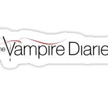 Vamp Diaries Sticker