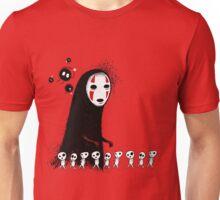 Studio Ghibli - The Spirits & Soot Sprites - Kodama - No Face - Susuwatari  Unisex T-Shirt