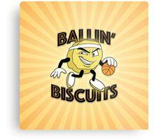 Ballin' Biscuits Metal Print