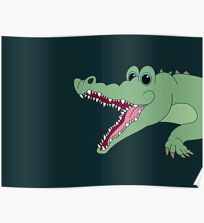 OH, WHAT A CROC! Poster