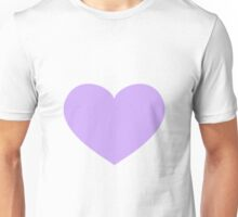 Purple Heart Emoji Unisex T-Shirt