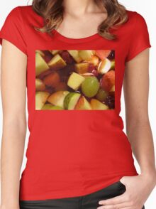 Fruit Salad Women's Fitted Scoop T-Shirt