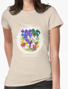 2½ Decades of Blast Processing Womens Fitted T-Shirt