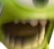 Blurry Mike Wazowski  Sticker