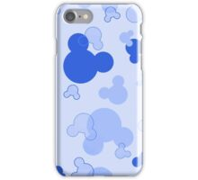 Hidden Mickey - Blueberry iPhone Case/Skin