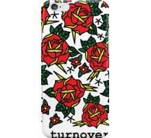 Turnover Florals iPhone Case/Skin