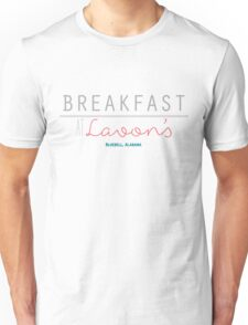 Breakfast at Lavon's Unisex T-Shirt