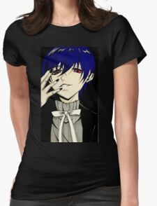 Demon Ciel  Womens Fitted T-Shirt