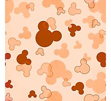 Hidden Mickey - Butterscotch Photographic Print