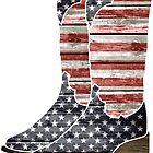 Patriotic Cowboy Boots by NestToNest