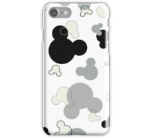 Hidden Mickey - Licorice iPhone Case/Skin