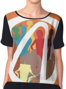 Borderlands Character Design Chiffon Top