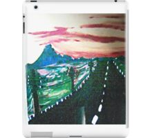 The Long Lonely Road  iPad Case/Skin