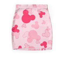 Hidden Mickeys - Raspberry Mini Skirt