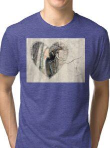 My Little Squirrelly Heart Tri-blend T-Shirt