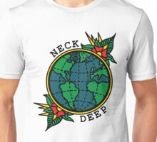 Neck Deep Globe Unisex T-Shirt