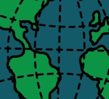 TSSF Globe Sticker