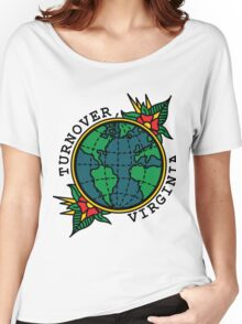 Turnover Globe Women's Relaxed Fit T-Shirt