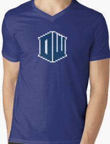 8 Bit Doctor Who Mens V-Neck T-Shirt