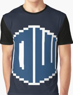8 Bit Doctor Who Graphic T-Shirt