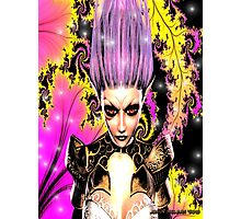 Xairna's Transformation 2nd Form  (The Dark Fairy) Photographic Print