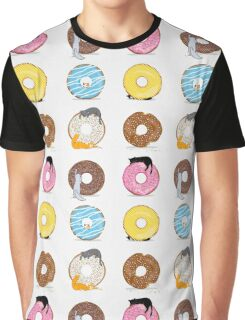 Cats and Doughnuts Graphic T-Shirt