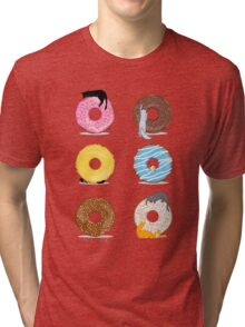 Cats and Doughnuts Tri-blend T-Shirt