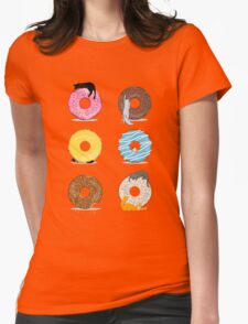 Cats and Doughnuts Womens Fitted T-Shirt
