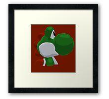 Yoshi Framed Print