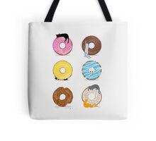 Cats and Doughnuts Tote Bag