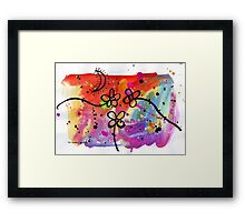 Midnight Garden cycle6 8 Framed Print