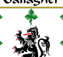 Gallagher Coat of Arms/Family Crest Sticker